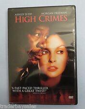 HIGH CRIMES (DVD, 2002) Ashley Judd, Morgan Freeman, Jim Caviezel