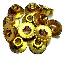 """5/16-18 Seat Nuts 1"""" Washer For 64-74 Mopar A/B/C/E Body (Qty-12) #1176"""