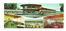 HOTEL MOTEL REGENT INC, BEAUPORT, QUEBEC, CANADA LARGE POSTCARD