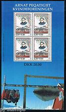 Groenland 1998 blok 15 50-ste verjaardag 1ste vrouwenvereniging cat waarde €6,50