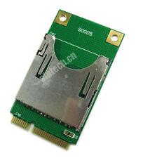 SD SDHC TF MMC Memory Card to laptop Mini PCI-e reader adapter as SSD PA-MR04
