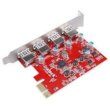 Mac Pro Inateck Expansion Card 4 Ports Card PCIE to USB 3.0 New