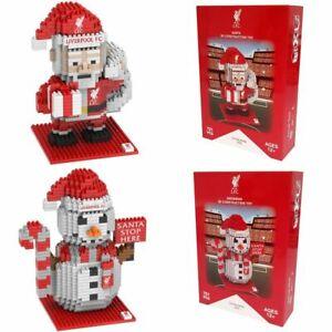 Liverpool FC BRXLZ Santa OR Snowman 721pc 3D Puzzle Official Licensed Product