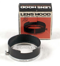 Olympus 35ED 35EC-2 35ECR 35RC Lens Hood, 43.5mm, Original Box. Others Listed