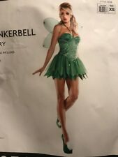 Tinker Bell Fairy Costume Woman Extra Small Halloween Starline