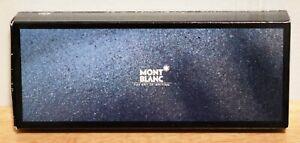 MONTBLANC MEISTERSTUCK EMPTY BLACK BALLPOINT PEN BOX