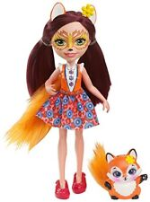 Enchantimals Felicity Fox Doll Girls Kids Adorable Role-Play Collectable Figure