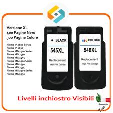 Kit Cartucce compatibili per Canon PG545 CL546 Pixma MG 2550 MG 2555 MG2950 2455