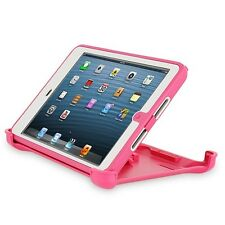 NEW Otter New Box Defender Case w/Stand For iPad Air 1st Generation Pink White