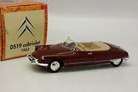 Norev Hachette 1/43 - Citroen DS 19 Cabriolet 1963