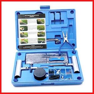 MAIKEHIGH Heavy Duty Tyre Puncture Repair Kit - 67 Pc Set Auto, Motorcycle, ATV,