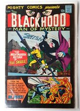 Black Hood Man of Mystery #47 Mighty Comics VG