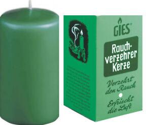 Rauchverzehrkerze 110 mm NEU Kerze Zigarettenrauch Geruch Entfernung  Anti Tabak