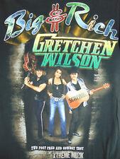 Big & Rich - Gretchen Wilson Xtreme Muzik The Tour T-Shirt Size S