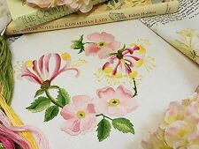Kit de bordado: Hedgerow Madreselva: Hermoso Kits de bordado de Maggie Gee
