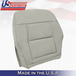 Fits 2010 to 2013 Mercedes Benz E350 E550 Driver Bottom Seat Cover Ash Gray