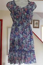 New Look Chiffon Floral Dresses Midi