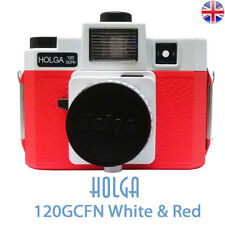 HOLGA 120GCFN White Red Lomo Medium Format Film Camera 120 GCFN New UK Stock