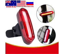 Bicycle Tail Light Rechargeable Bike Safety Warning With Usb Led & Lamp Cycling