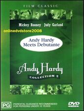 ANDY HARDY MEETS DEBUTANTE (Mickey ROONEY Judy GARLAND) Classic Film DVD Reg 4