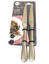 Oeil témoin 2 pièce en acier inoxydable couteau à viande de Taylor, très bien poli.