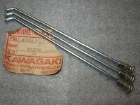KAWASAKI REAR OUTER SPOKES 3 KDX80 KX80 KDX KX 80 1979-1983 NOS OEM 41028-5025