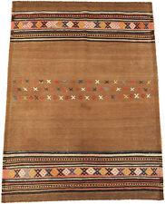 Molto grana fine età Kilim Qouchan Persia 125 x 93 cm tessuti a mano