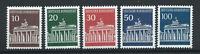 Allemagne - RFA N°368/71A** (MNH) 1966/67 - Porte de Brandebourg