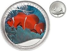2011 Palau Large Proof color $1 Anemonefish