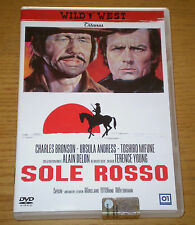 SOLE ROSSO Bronson Andress Mifune Delon Young Western DVD 01 Dist. 2010