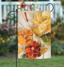 Toland Cattail and Pond Flower 12.5 x 18 Yellow Orange Garden Flag
