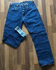 LVC Levis Big E 501 XX Cinchback 1933 Style Selvedge Denim Jeans