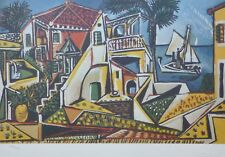 """PABLO PICASSO """"MEDITERAN"""" HAND NUMBERED 1492/1500 LIMITED EDITION LITHOGRAPH"""