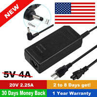 AC Adapter Charger Power Cord For Lenovo ADL45WCC SA10M42697 01FR128 5A10H43625