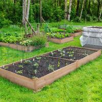 Cedar Corner Raised Elevated Garden Planter Bed Box Kit Vegetable Flower Outdoor