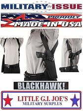 NEW (LH) Military Issue Blackhawk Vertical Shoulder Holster Autos & Revolvers
