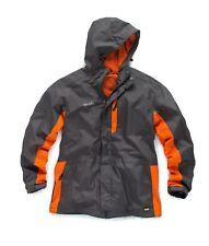 Scruffs Worker Jacket Waterproof Work Coat Men's Charcoal Grey (Various Sizes)