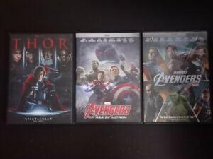 The Avengers DVD Marvel Thor
