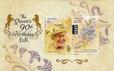 AUSTRALIA 2016 -THE QUEENS 90TH BIRTHDAY  MINI SHEET  MUH