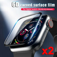 2x Tempered Glass Screen Protector For Apple Watch Series 4 3 2 1 38/40/42/44 mm