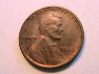 1928-D Lincoln Choice Very Fine VF+ Re-Toning 1 Wheat Cent One Penny US Coin