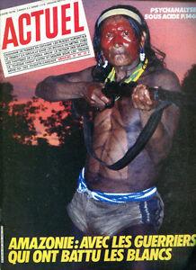 MAGAZINE ACTUEL N°66. Avril 1985.