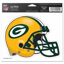 """Green Bay Packers Helmet 5""""X6"""" COLOR DIE CUT DECAL BRAND NEW"""
