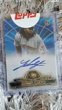 2014 Topps Johnny Cueto SP /50 BLUE AUTO TRIBUTE TO THE PASTIME UNOPENED CHAMP🏆
