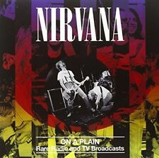 on a Plain RARE Radio & TV BR 12 Inch Analog Nirvana LP Record