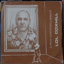 "LOL COXHILL IL FROGA SILENCIO 45t 7"" SPAIN PRESS SP BARCELONA UMYU 1982"