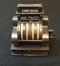 Vintage National Cash Register Pencil Sharpener Miniature Metal Replica