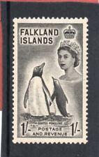 Falklands Islands QE2 1955-57 1s. black sg 192 H.Mint