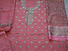 Fancy Chiffon asiatico cucito ricamato Salwar Kameez Eid Festa 2019 e usura