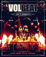 VOLBEAT - LET'S BOOGIE! LIVE FROM TELIA PARKEN (2CD+DVD)  2 CD+DVD NEW+